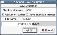 Animation Save Dialog