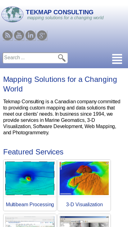 Tekmap Consulting | mapping solutions for a changing world on
