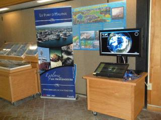 World Wind Interactive Kiosk at Bedford Institute of Oceanography