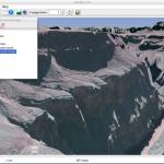 EarthNav Lite - Layers View over Grand Canyon